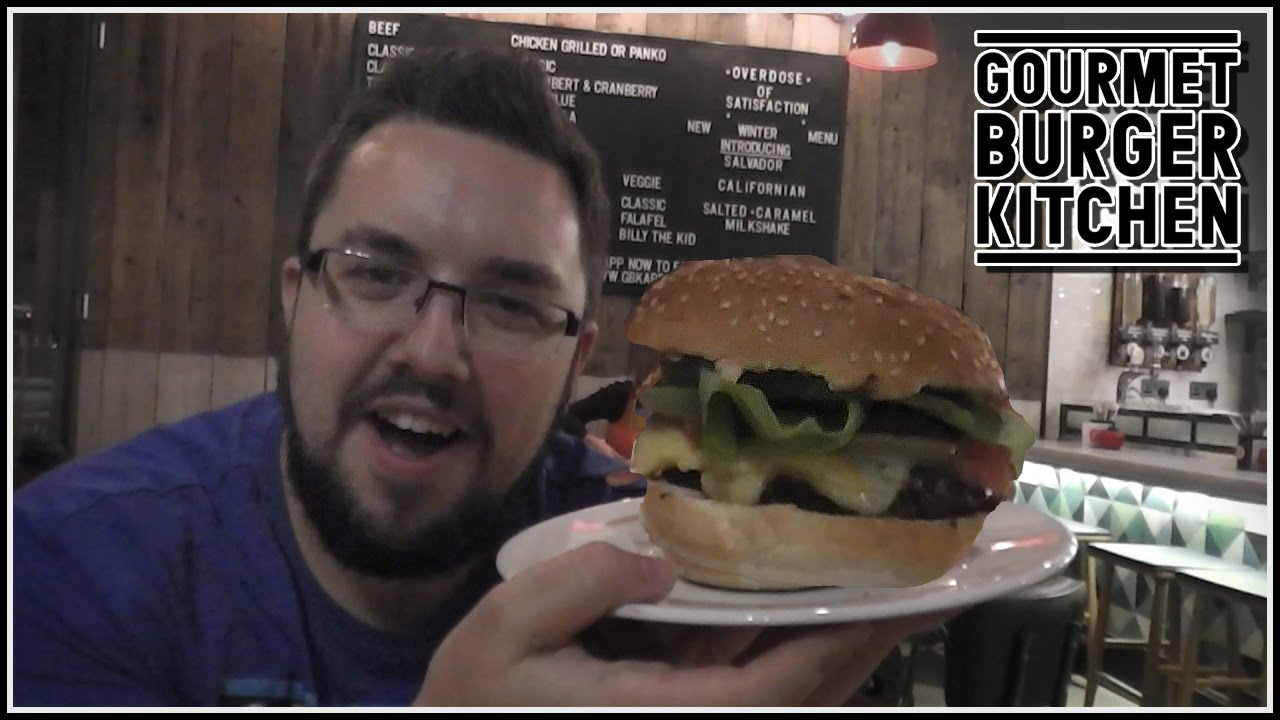 Gourmet Burger Kitchen Review - YouTube
