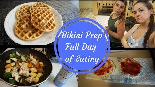 Full Day of Eating Bikini Prep 5 Weeks Out