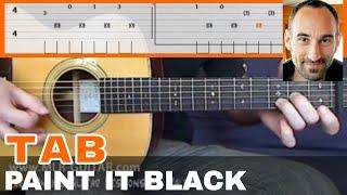 "Guitar Cover / Tab ""Paint It Black"" by MLR-Guitar"