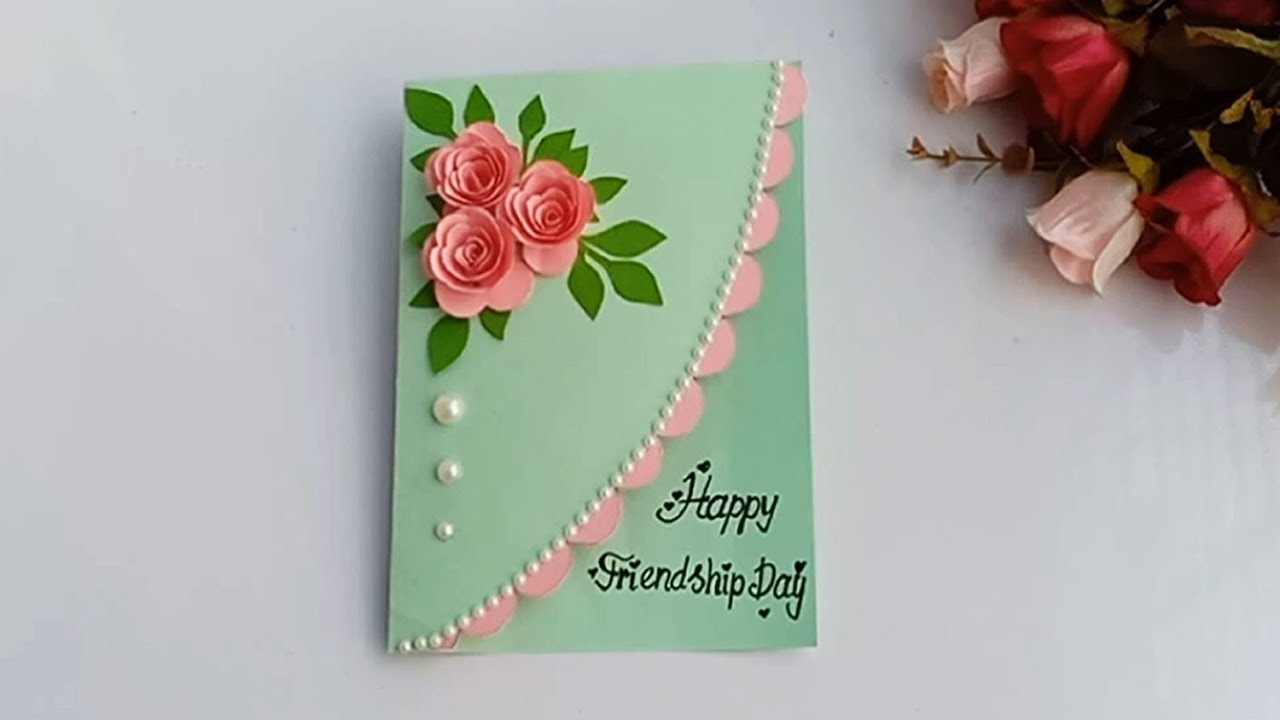 How To Make Friendship Day Special Pop Up Card Diy Friendship Day Card