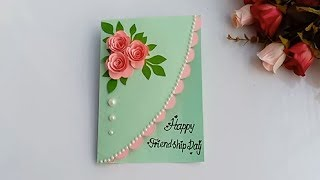 How to make Friendship day special pop up card / DIY Friendship Day Card