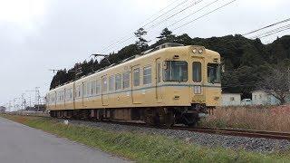 《1月7日引退》一畑電車2100系2102F旧電鉄色 @大寺ー美談