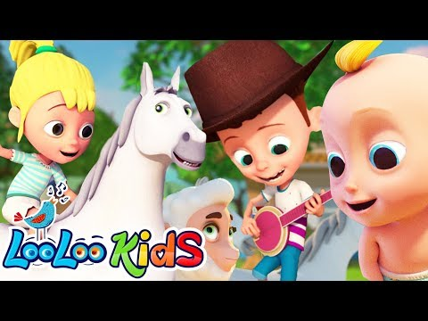She'll Be Coming Round The Mountain  -  LooLoo Kids Nursery Rhymes For Kids