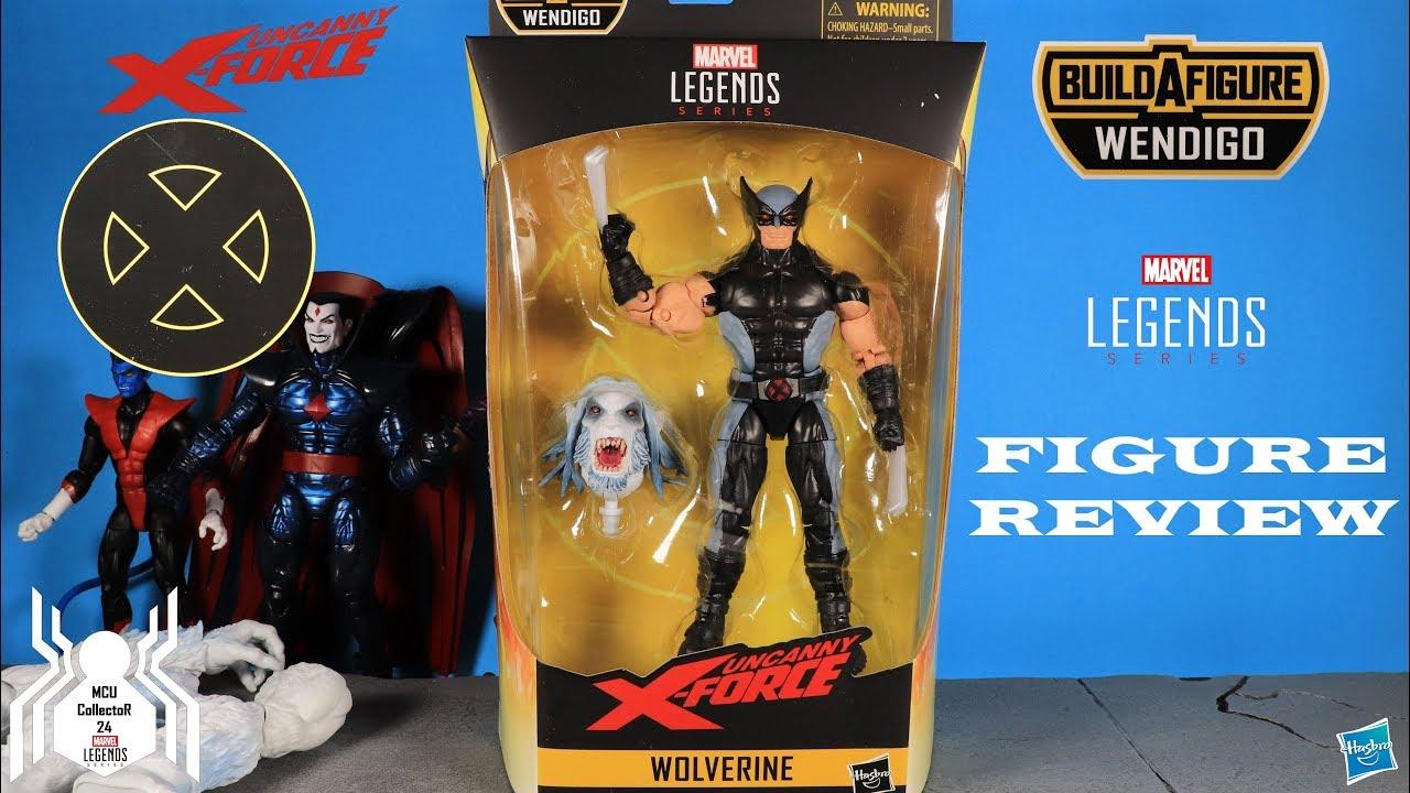 """Wendigo BAF Marvel Legends 6/"""" X-Force WAVE 1-X-Force Wolverine"""