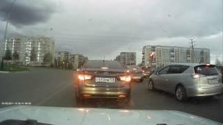 Пример съёмки  видеорегистратора PRESTIGIO RoadRunner 140