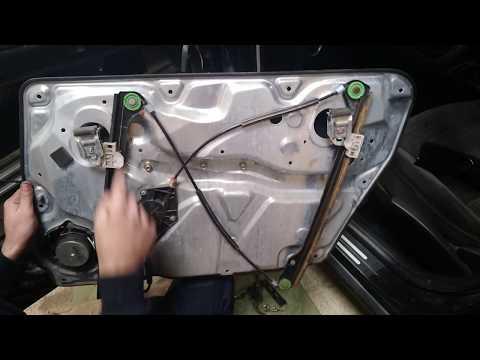 Снятие замка двери / Разборка двери/ Ремонт стеклоподъемника Volkswagen Passat B5/ Wv Golf 4
