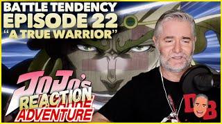 """Jojo's Bizarre Adventure (Battle Tendency) E22 """"A True Warrior"""" REACTION"""