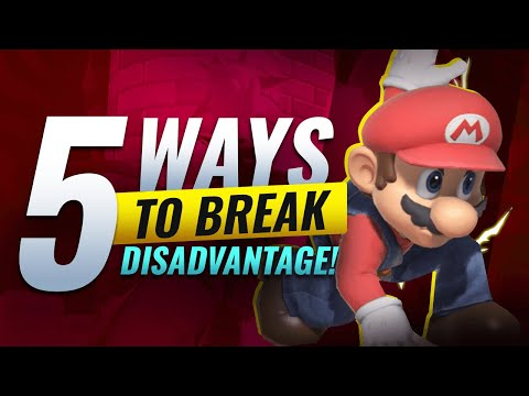 HOW TO SURVIVE DISADVANTAGE in Smash Ultimate