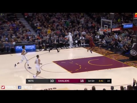 LeBron James Missed a Wide Open Dunk _ Cavs Vs Nets