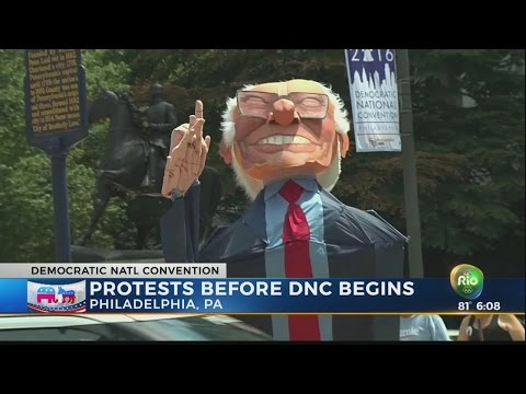 DNC protests
