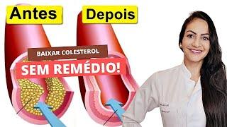 Aprenda a Baixar o Colesterol Ruim Naturalmente – Saiba o Que é Colesterol Bom e Ruim