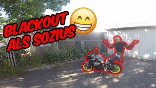 Blackout als Beifahrer auf dem Motorrad! - Drift Vlog