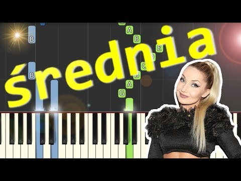 🎹 Łowcy Gwiazd (Cleo) - Piano Tutorial (średnia wersja) 🎹