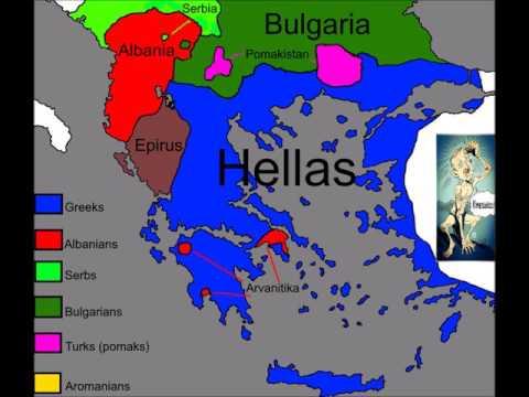 Ethnic Balkan Map