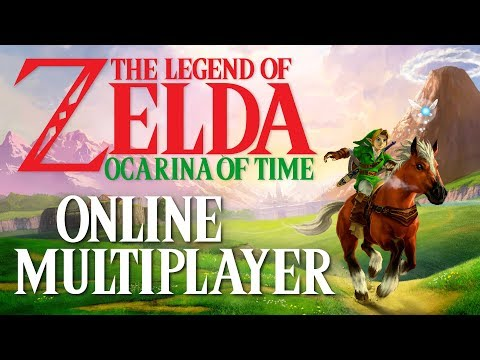 The Legend of Zelda Ocarina of Time Online Multiplayer   2-15 Player Co-Op Story Mode