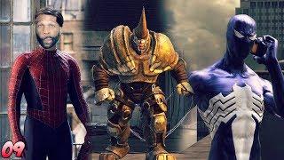 Spider-Man: Web of Shadows Walkthrough Gameplay Part 9 - Rhino