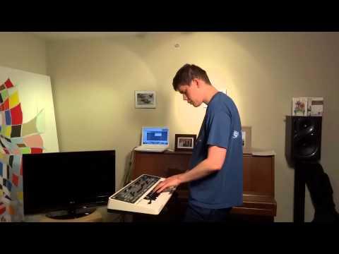 Work life balance (Original song) - Roland Gaia SH-01 Synth jam Sept 2 2012