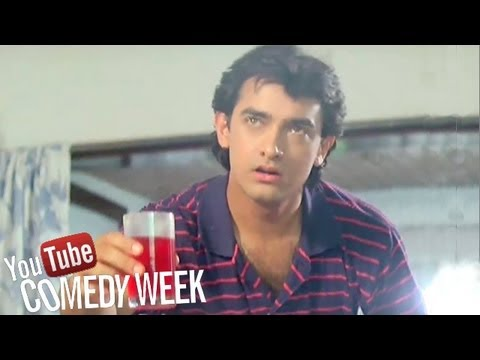 Aamir Khan's Football Match - Andaz Apna Apna Comedy Scene Comedy Week