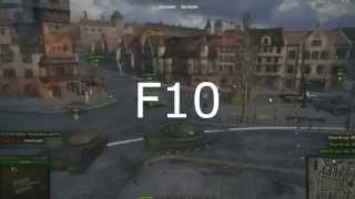 "Чит-Мод ""Перезарядка над танком"" для World of Tanks /под патч 0.9 .5/"