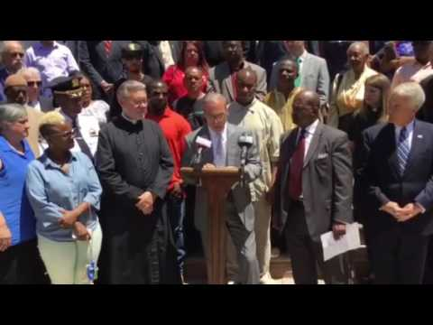 Prayer Vigil at First Central Baptist Church, Staten Island, NY Part1