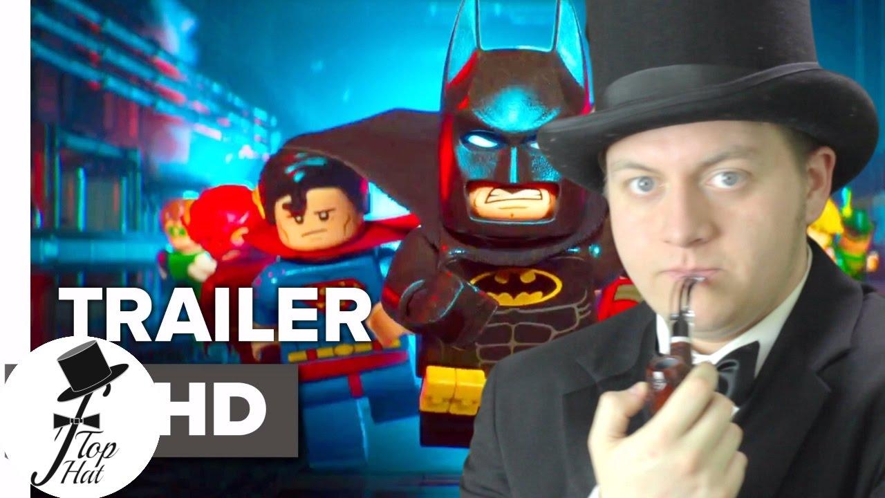 The LEGO Batman Movie Trailer Reaction 2017 - YouTube