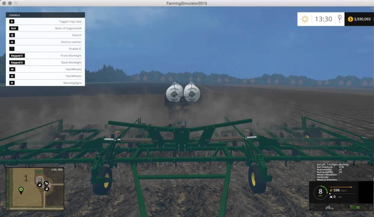 FS15 Small Town America Cultivating Ep 3