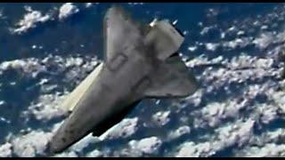 Space Shuttle Atlantis docks with international space station