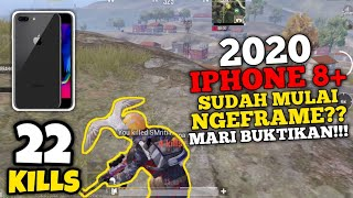 Issue 2020! Apakah iPhone 8+ Sudah Mulai Frame drop?? Test Game! | IPHONE 8 PLUS PUBG