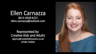 'Perfect' by Jodie Whelan, performed by Ellen Carnazza