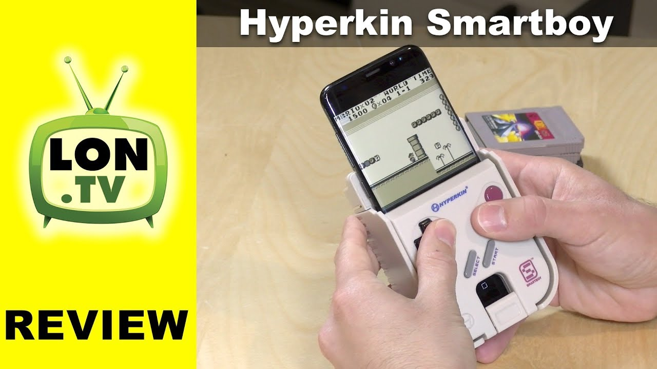 Hyperkin Smartboy Review Play Your Old Gameboy Games On A - Hyperkin smartphone gameboy