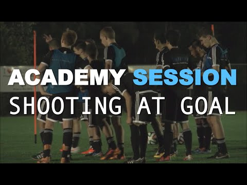 Football Academy Session 4 - Shooting at Goal