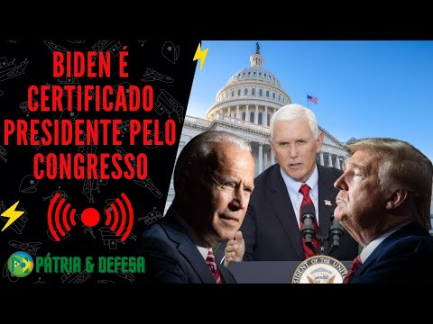 Congresso Certifica Vencedor - E Presidente Garante Transição Pacífica. Entenda