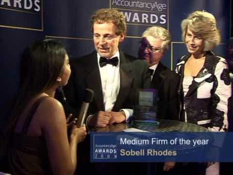 Sobell Rhodes Interview On Winning Medium Firm Of The Year At The Accountancy Age Awards 2009