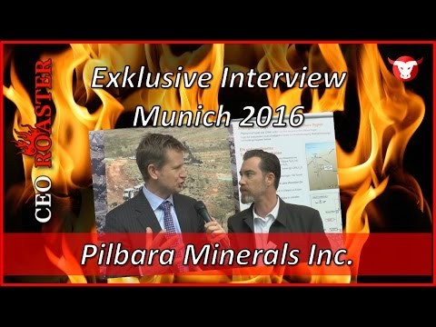 Pilbara Minerals Ltd.: Exklusive Interview Munich Precious Metals Conference 2016 (ASX: PLS)