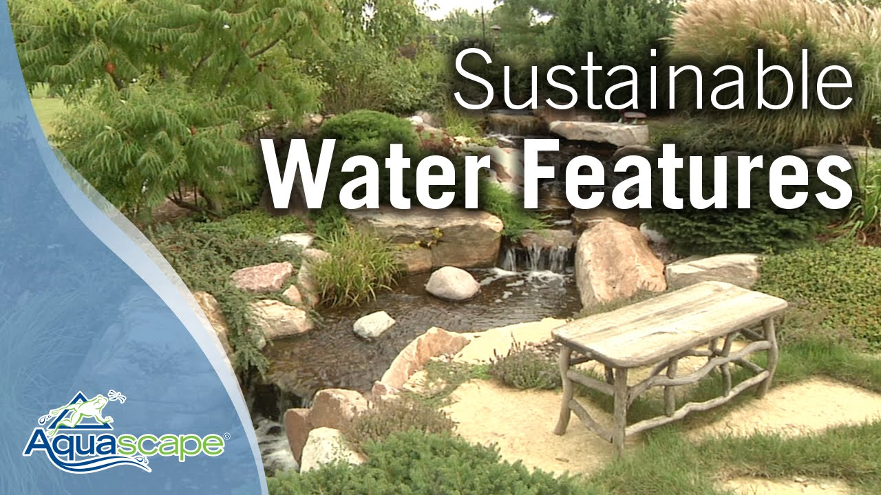 Sustainable Water Features Rainwater Harvesting Youtube