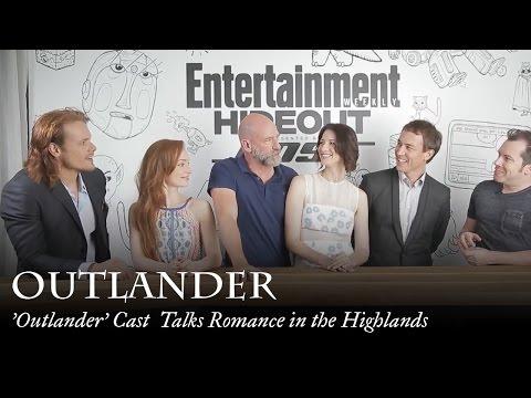 Outlander  Cast Talks Romance in the Highlands