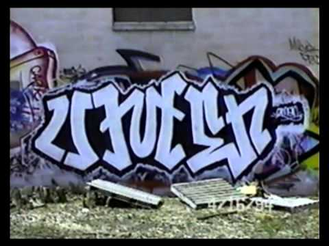Minneapolis Wall Graffiti '93 - '94
