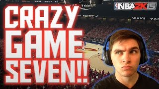 CAN WE COMPLETE THE UPSET?! NBA 2K15 MyCareer Rd1 Gm7 - TERRIBLE START