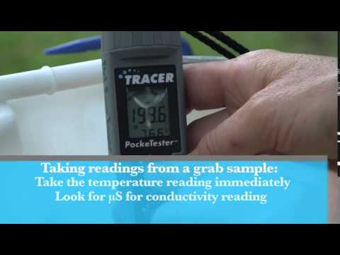 Stream Monitoring Training Module #3 How To Calibrate And Use The Lamotte Conductivity TRACER Meter