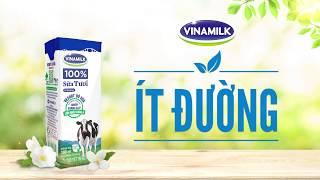 Sữa tươi Vinamilk Ít đường thanh nhẹ thuần khiết