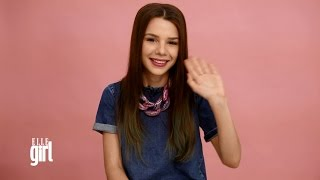 Мария Вэй / Maria Way дала мастер-класс по макияжу для ELLE Girl
