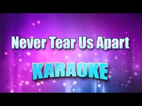 INXS - Never Tear Us Apart (Karaoke Version With Lyrics)
