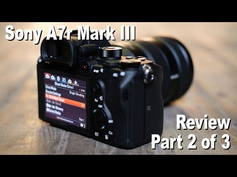 Sony A7r III review - | Cameralabs