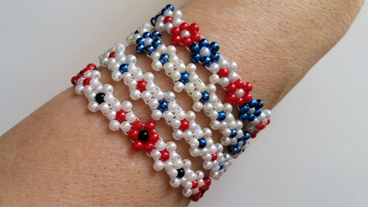 Learn How to Make a Beaded Crochet Rope Bracelet by Fusion ...