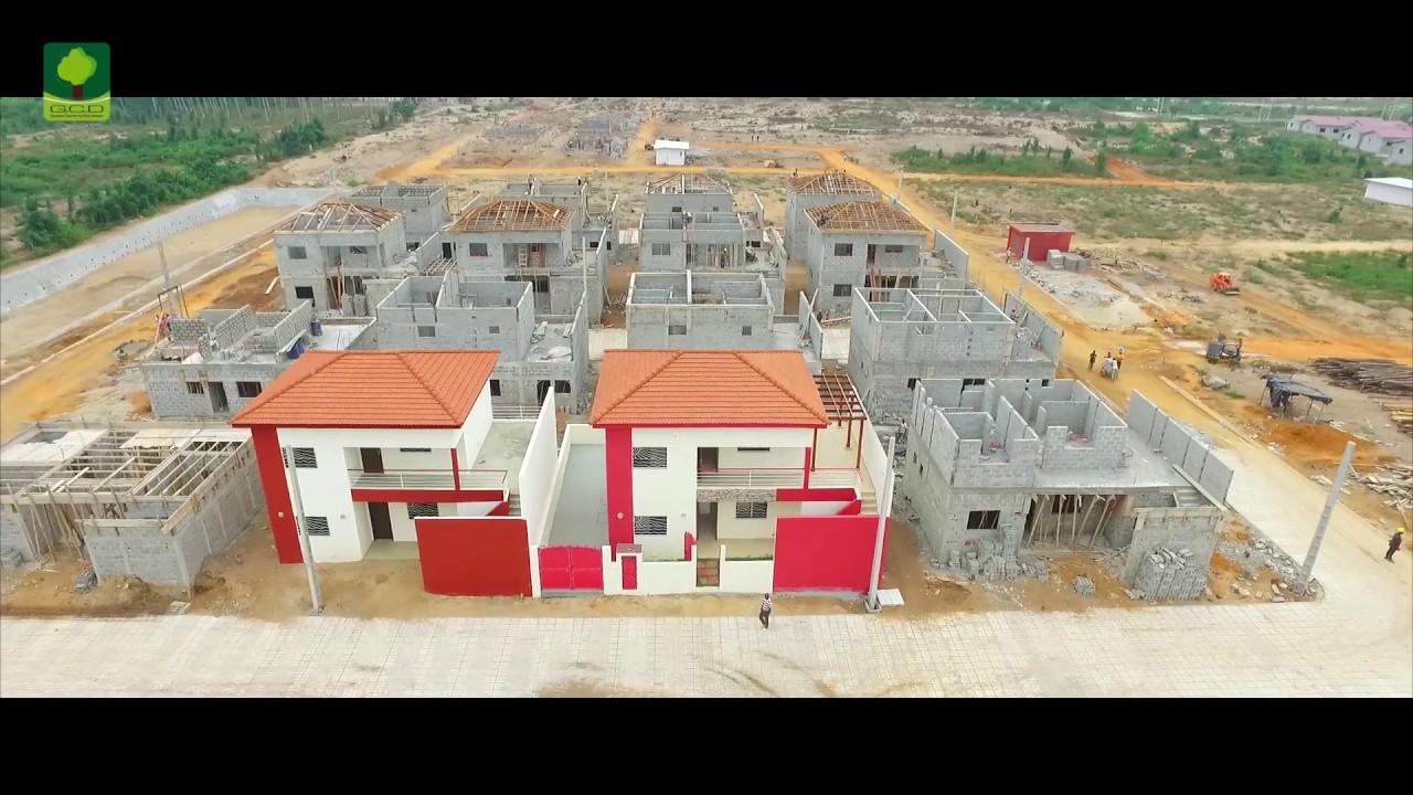 Projet Immobilier Les Residences Azur De Grand Bassam Youtube