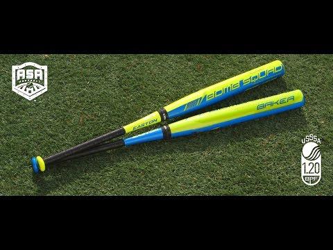 Easton Bryson Baker Balanced Slowpitch Softball Bats
