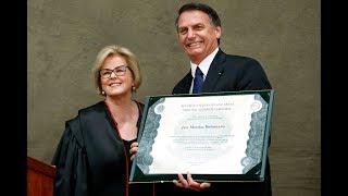 Cerimônia de diplomação de Jair Bolsonaro.