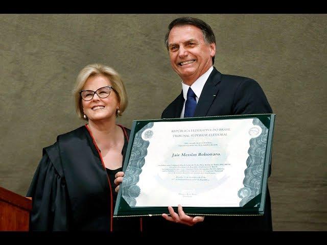 Cerimônia  de diplomação de Jair Bolsonaro