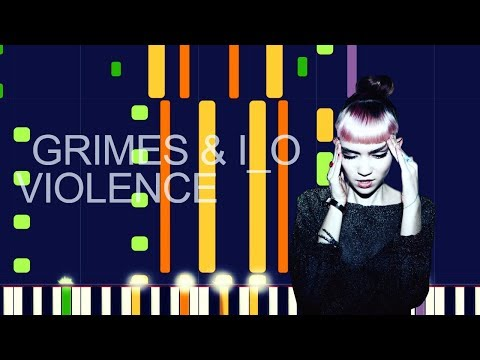"""Grimes ft. i_o - VIOLENCE (PRO MIDI REMAKE) - """"in the style of"""""""