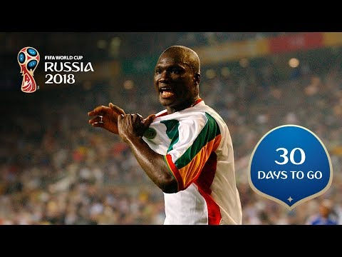 30 DAYS TO GO! Senegal stun France